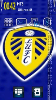 Leeds United 01 theme screenshot