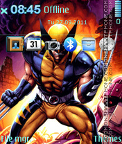 Wolverine 12 theme screenshot