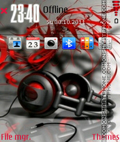 Head Phone theme screenshot