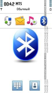 Bluetooth Logo theme screenshot