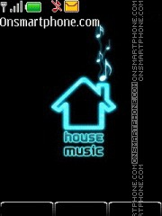House music theme screenshot