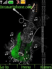 Guitar Fun tema screenshot
