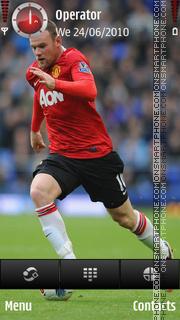 Wayne Rooney theme screenshot