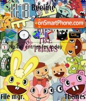 Happy Tree Friends 03 theme screenshot