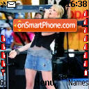 Hillary Duff 01 theme screenshot