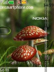 Nokia Mushroom tema screenshot