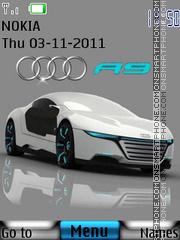 Audi R9 02 theme screenshot