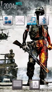 Army 02 theme screenshot