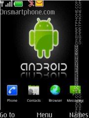 Android Cute es el tema de pantalla