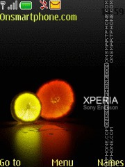XPERIA light es el tema de pantalla