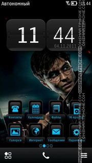 Harry Potter 09 theme screenshot