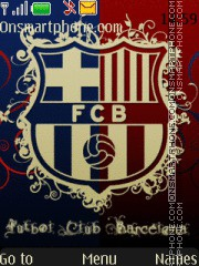 Fc Barcelona 22 theme screenshot