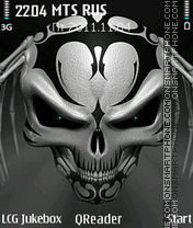 The Skull theme screenshot