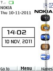 Nokia White theme screenshot