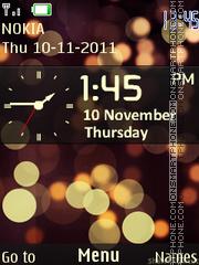 Blackberry Clock 01 es el tema de pantalla