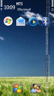 Nature Windows 7 HD tema screenshot