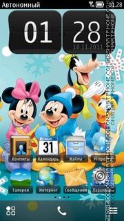 Mickey N Minnie 01 es el tema de pantalla