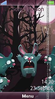 Rabbits es el tema de pantalla
