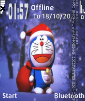 Doraemon v1 theme screenshot