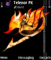 Fairy Tail theme screenshot