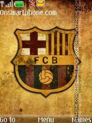 Fc Barcelona 23 theme screenshot