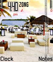 Beach es el tema de pantalla