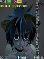 Death Note L Neko theme screenshot
