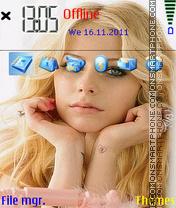 Avril Lavigne 01 es el tema de pantalla