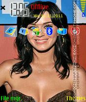 Katy Perry 01 es el tema de pantalla
