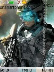 Army Games theme screenshot