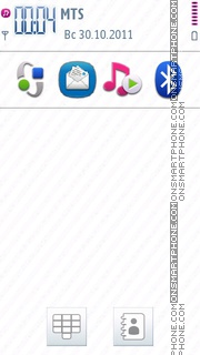 Symbian Anna Icons theme screenshot