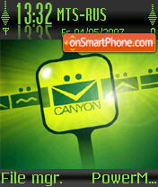 Tema Canyon theme screenshot