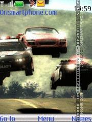 Nfs Most Wanted 15 theme screenshot