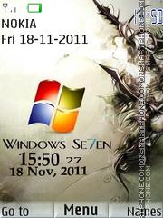 Window 7 01 theme screenshot