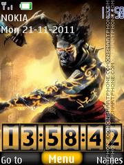 Prince Of Persia 2036 theme screenshot