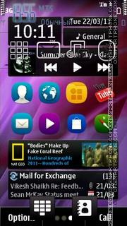 N9 Android theme screenshot