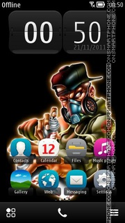 Graffer theme screenshot