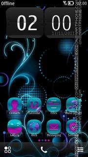 Capture d'écran Neon Lights 02 thème