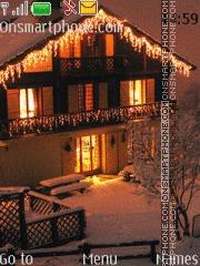 Christmas House 01 es el tema de pantalla