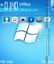 Windows 7 Anna Icons theme screenshot