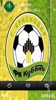 FC Kuban Krasnodar Old theme screenshot