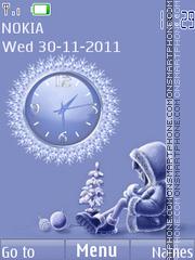 Snowgirl theme screenshot