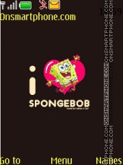 Spongebob Black theme screenshot