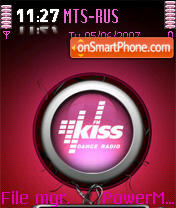 KissFM theme screenshot