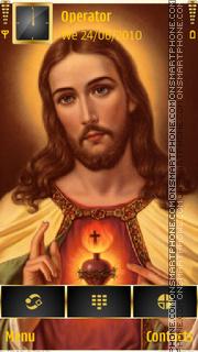 Sacred heart of Jesus es el tema de pantalla