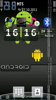S60 Android For Nokia tema screenshot