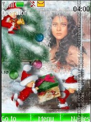 Kajol Merry Christmas es el tema de pantalla