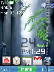 Android Widgets 01 theme screenshot