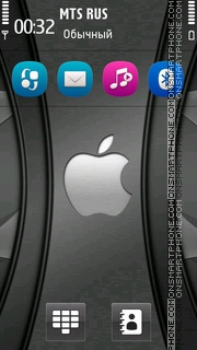 Apple Grey Hd tema screenshot