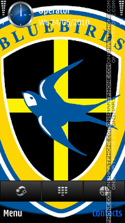 Cardiff bluebirds theme screenshot